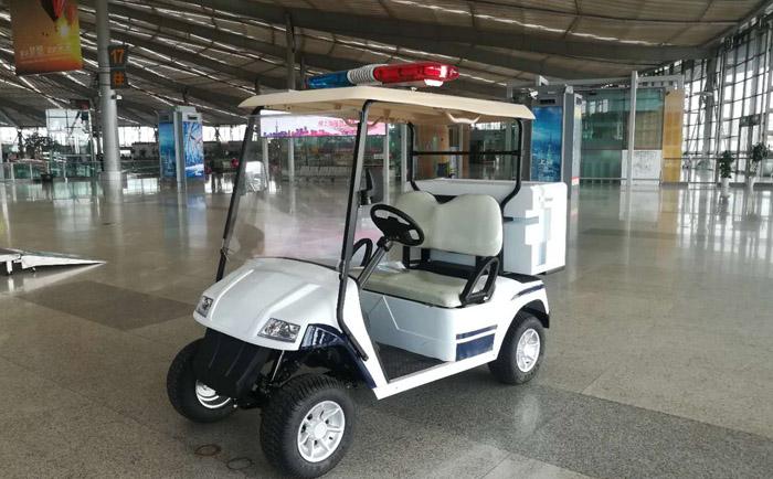 益高新型电动巡逻车成为上海城市新风景